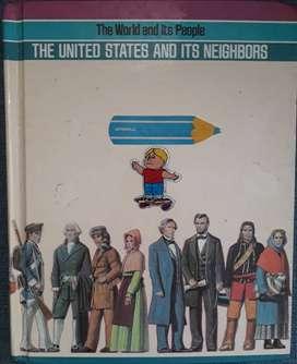 Libro de inglés The United States and its neighbors. The world and its people.