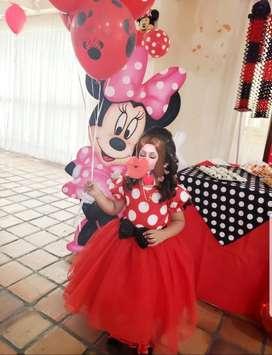 Se Vende Hermoso Vestido Minnie