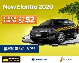 HYUNDAI ELANTRA GNV 2020 CON SOAT Y GPS INCLUIDO!!