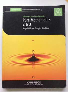 Pure Mathematics 2, 3 Cambridge