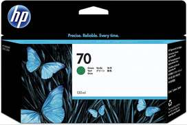 Cartucho de tinta DesignJet HP 70 verde de 130 ml para DesignJet Z3100, Z3200  WIDEIMAGEPRINTERS