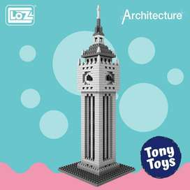 Torre Reloj Inglaterra  Diamond Blocks (870 pcs)