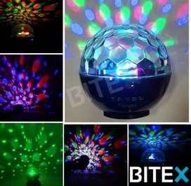 Esfera RGB portatil+Parlante bluetooth