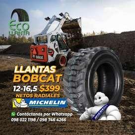 LLANTAS PARA BOBCAT MICHELIN 12-16,5