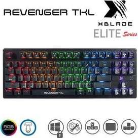 Teclado Mecanico Gamer Xblade Revenger TKL