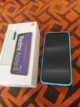 Se vende xiaomi redmi note 8 pro de 128 GB