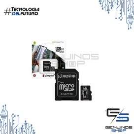Memoria Micro Sd 128gb Clase 10 Kingston 100mb/s