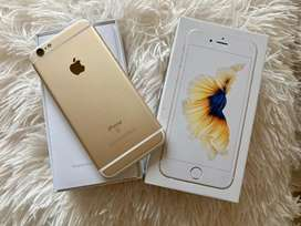 iPhone 6s IMPECABLE 16G oro + AURICULARES+CARGADOR+ 4 FUNDAS