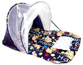 Cuna portátil para bebe con mosquitero