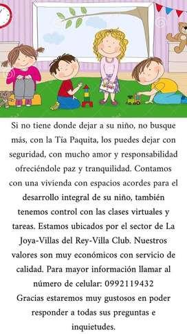 CUIDADOS DE NIÑOS EN HOGAR TIA PAQUITA