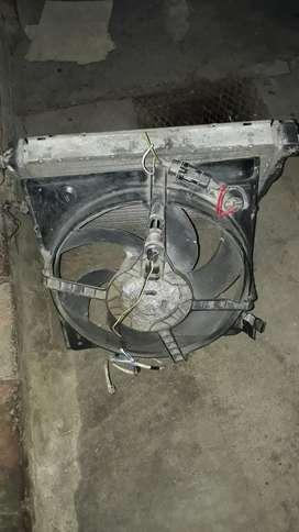 Radiador Y Electro para Renault 19