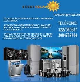 TECNOLOGÍA EN PANELES SOLARES E INGENIERÍA ELECTRÓNICA. REPARACIÓN Y MANTENIMIENTO DE ELECTRODOMÉSTICOS
