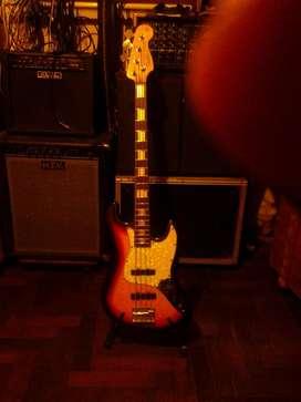 bajo  jazz bass de luthier en muy buen estado o pto.