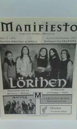 Fanzine Manifiesto nro.6 2003