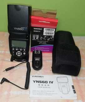 Flash YN560 IV + Radio 603c