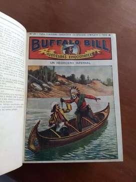 Buffalo Bill avent. extraordinarias Colecc.55 fascículos originales empastados años 30