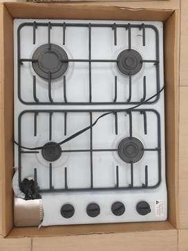 Cocina a Gas en Acero Inoxidable