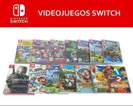 Videojuegos switch