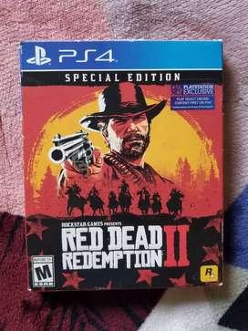 Juego de Ps4 Red Dead Redemption 2