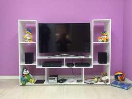 Rack Modular Cubo Espacio Tv Dvd Home