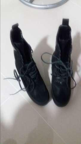 zapatos bota dama