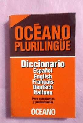 DICCIONARIO PLURILINGÜE     OCEÁNO