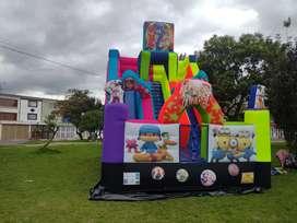 Gran promoción de venta y alquiler de inflables  recreativos