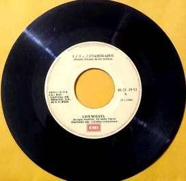 LUIS MIGUEL - 1+1=2 Enamorados, Popurrí De Rock, Decídete - 45 rpm