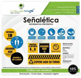 Señalética de prevención