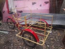 Triciclo para trabajar