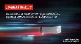 INTERNET HOGAR Y MOVIL PARA TI YA ! CLARO