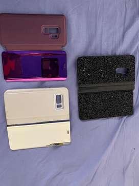 3 Fundas Samsung S9 edge usadas