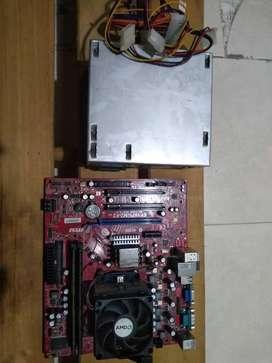 Fuente de poder genérica 550w + board