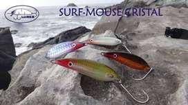 Señuelos Surf Mouse Cristal Mlures Pargo Róbalo Corvina