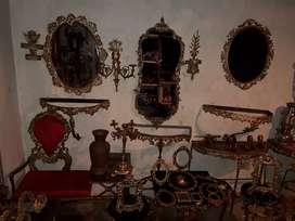 Adornos 100% bronce antigüedades