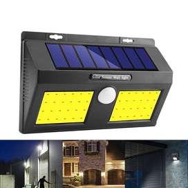 [ENVIO GRATIS] Aplique Solar Autonomo Doble Led Con Sensor De Movimiento