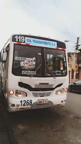 SE VENDE BUS HINO GD con acciones y derechos