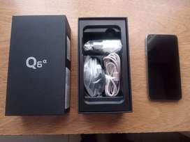 Celular LG Q6 Alpha impecable