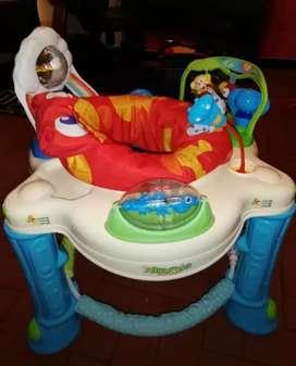 Caminador+Coche Maxybaby+ silla para carro