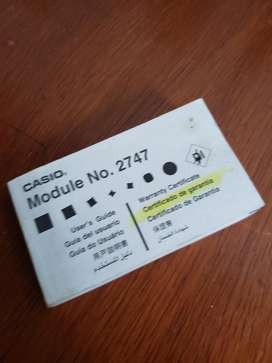 Manual Reloj Casio 2747 Analogo Digital