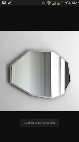 Cabinas de baño, espejos, ventanas