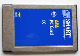 Tarjeta Memoria Ata Pc Card Pcmcia Smart Tech Flash 64mb