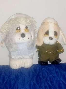 Muñecos colección Giordano y Sindy Pava