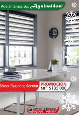 PROMOCION SHEER ELEGANCE SCREEN