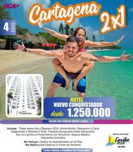 Vacaciones 2x1 Cartagena