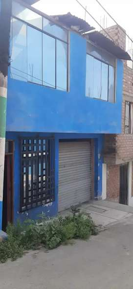 Se vende casa de 2 pisos por motivo de viaje