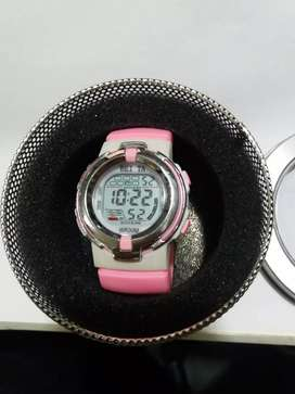 Reloj para niña digital sumergible 30 mts.
