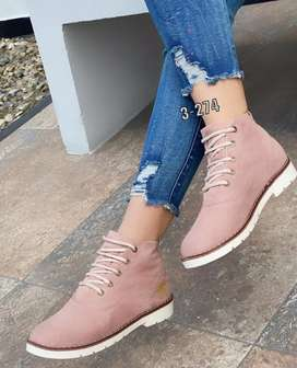 Zapato Bota Botin Timberland Para Dama