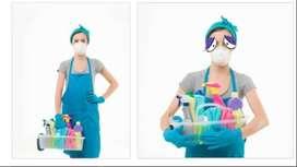 Brindo el servicio de limpieza de casas, casas en alquiler, locales.