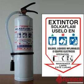 Extintor Solkaflam 123 3700 Gramos